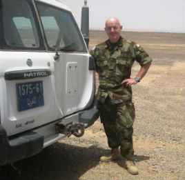 Kevin McDonald has a fascinating report from Western Sahara where he has just been deployed on a UN mission. Click on photo to read his account.
