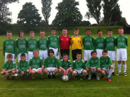 Mayo U13s excelled at a recent tournament in England. Click on photo for the details from Pat Quiqley.