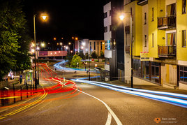 Castlebar by night - a classic gallery from Robert Justynski showing Castlebar off to advantage. Click above to browse.