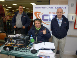 CRCfm did a live OB from O'Connor's SuperValu last Wednesday. Click on photo for more from Jack Loftus.