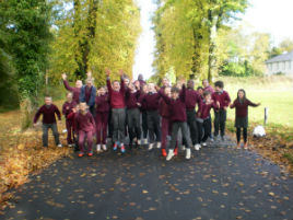 Mrs. O' Shea's 4th Class at Breaffy NS enjoyed an autumn nature trip to Breaffy woods. Click on photo for more.