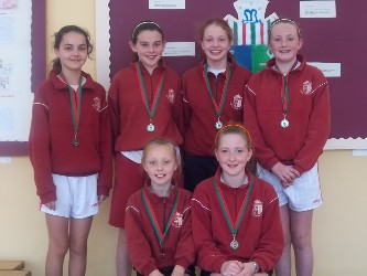 Congratulations to team Scoil Naomh Aingeal who came second in the Mayo Cross Country Championships back in October. Click on photo for details.