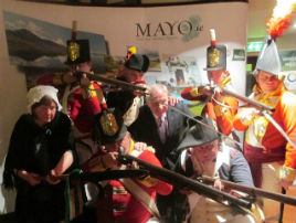 The launch of the Gathering - Mayo which took place at Lough Lannagh Holiday Village on Monday. Click on photo for more from Michael Baynes.