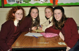 Photos from Castlebar Credit Union School's Quiz Held in Davitt College. Click for more from Ken Wright.