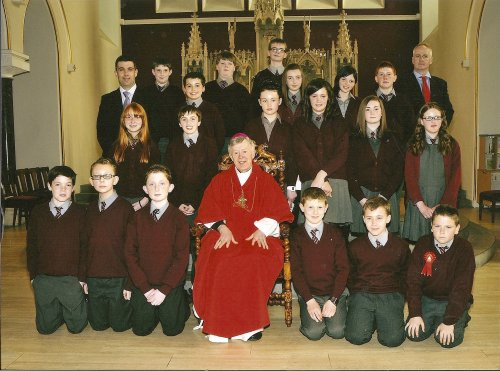 Congratulations to all the pupils who made their confirmation recently. Click on photo for more from Breaffy NS.