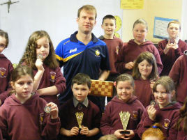 Breaffy National School chess club is up and running - click on photo for more details.