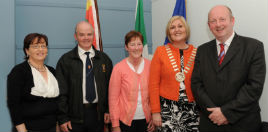 Cllr Noreen Heston is the new Mayor of Castlebar. Click on photo for more from Tom Campbell.