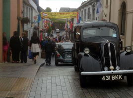 Main Street and Castle Street were busy yesterday! Click on photo for more from the Heart of Castlebar.