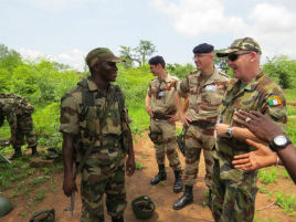 Kevin McDonald has returned to Africa - click on photo for fascinating account of his mission in Mali.