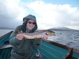 The first angling report of the year from the northwest. Click above for details.
