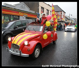 Keith McGreal has a couple of great Parade photo galleries taken at the Castlebar Parade. Click on photo for more.