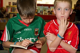 Alison Laredo has a great set of photographs from the Summer Reading Challenge at Castlebar Library. Click above to view.