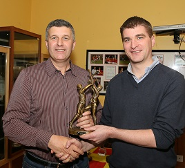 Player of the Year Award. Click on photo for details from Tony Stakelum and more photos by Michael Donnelly. Click above for more.