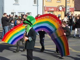 The End of the Rainbow at Castlebar's 2008 St. Patricks Parade