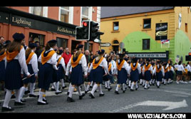 Keith McGreal photographed the Parade on Linenhall Street