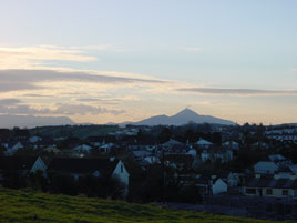 Croagh Patrick on Christmas Day