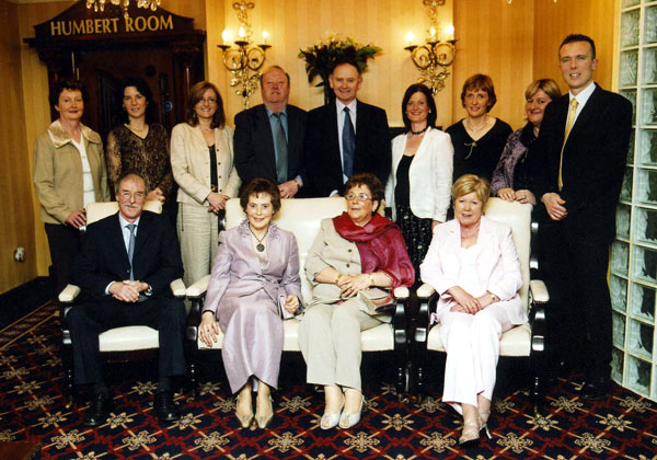 Pictured at the Castlebar branch I.N.T.O function in the T.F royal hotel Castlebar to mark the retirement of six school teachers are: