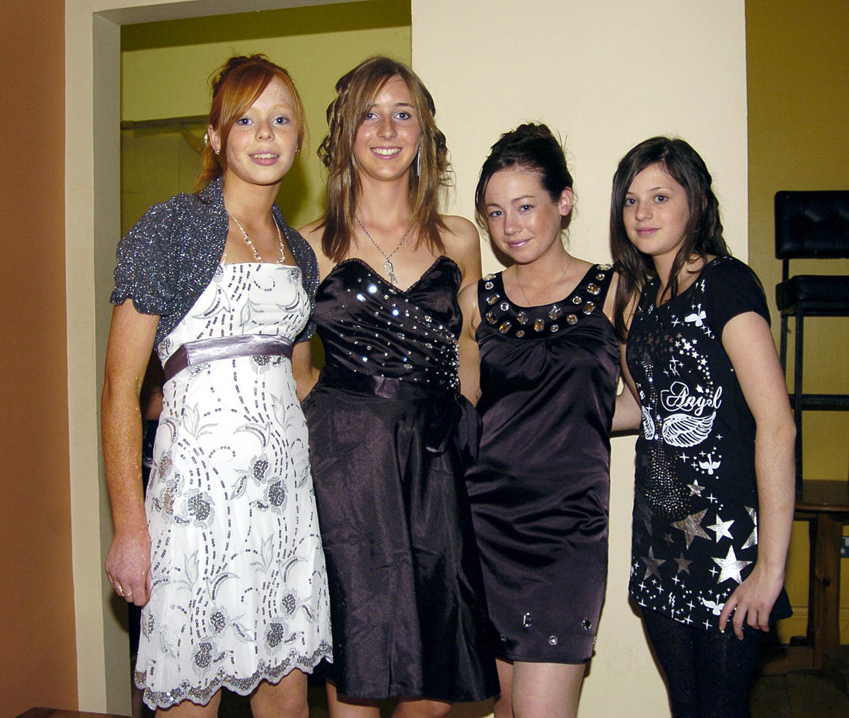 Pictured in the Resource centre in Balla at a Fashion Show organised ...