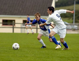 Ballina played Swinford for the U14 League Cup. Click for more photos from Ken Wright.