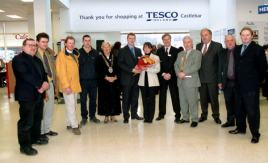 Opening of Tesco